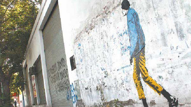 ¿Quién es el artista que retrató a Chipi en las calles cipoleñas?