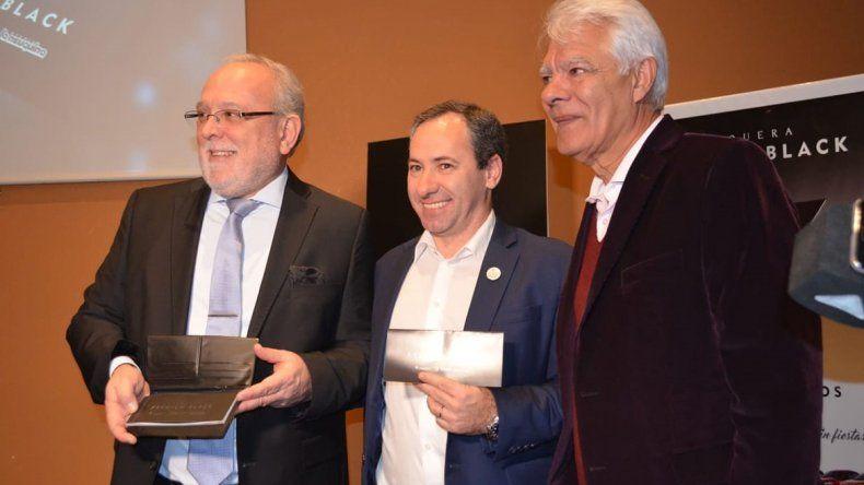 La Chequera Premium Black fue presentada por los máximos referentes de las loterías de Río Negro y Neuquén.