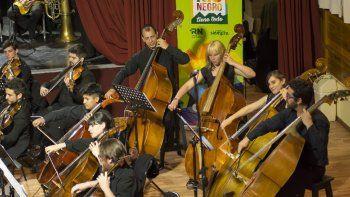 La orquesta rionegrina también se presentará en Roca este fin de semana.