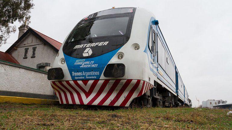 El tren está fuera de servicio por una falla mecánica