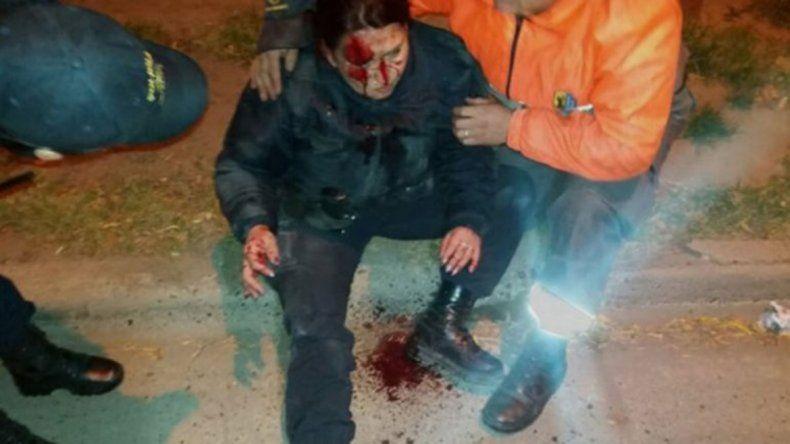 Casi mata a policía para escapar, pero zafó de ir a prisión