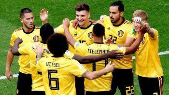 belgica le gano 2 a 0 a inglaterra y se quedo con el tercer puesto