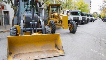 la municipalidad preve un leasing para adquirir maquinas