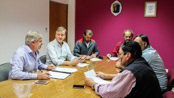 Tortoriello recibió ayer a dirigentes de los gremios ATE, Soyem y UPCN, pero no lograron un acuerdo salarial.