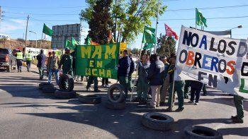 Obreros de MAM se manifestarán sobre la Ruta Nacional 22.