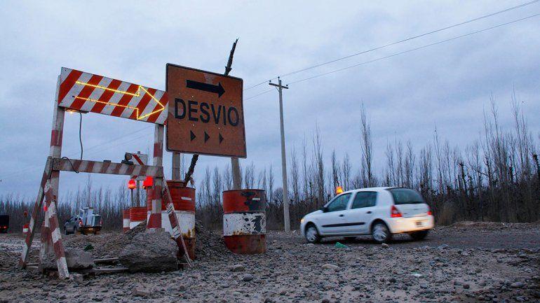 Hay retrasos, pero la obra de la Ruta 22 en Cipolletti sigue