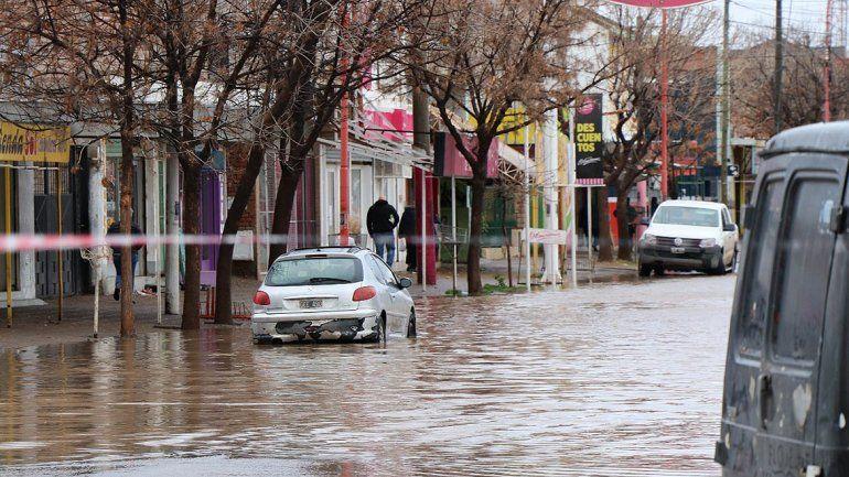 En Cipolletti llovió casi cuatro veces más que el promedio mensual para el mes de julio
