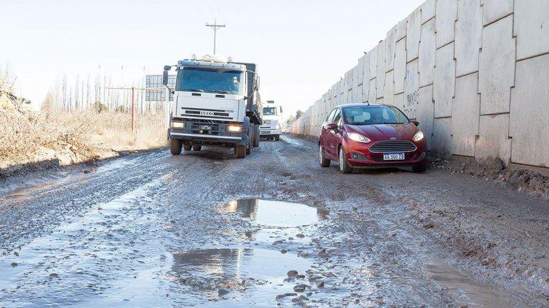Piden a Vialidad Nacional que termine las obras en la Ruta 22