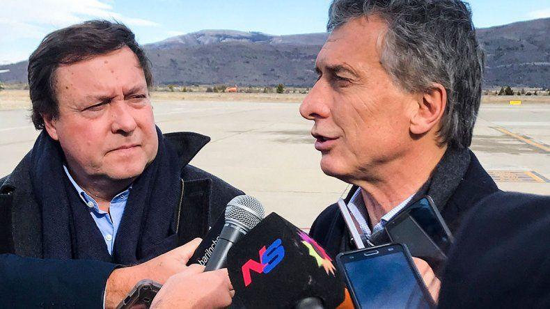 Macri en Bariloche, junto a Weretilneck y empresarios