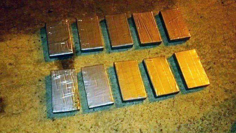Secuestraron 10 kilos de cocaína que iban hacia Bariloche valuada en $5 millones