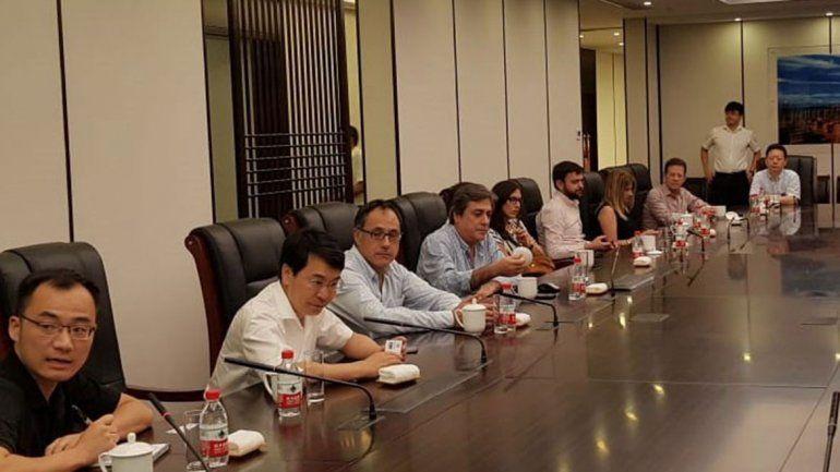 El diputado Wisky participó de una misión diplomática a China.