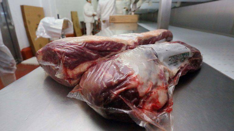 La carne pertenece al frigorífico Fridevi y partió en avión. En los próximos días