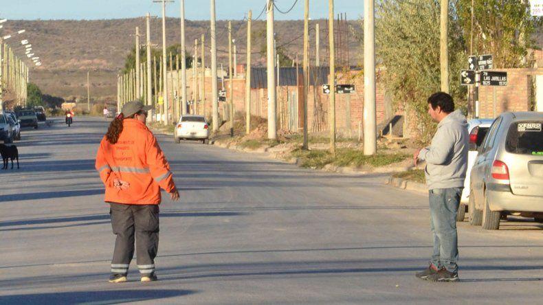 En las calles del Distrito Vecinal se quejan por los motochorros.