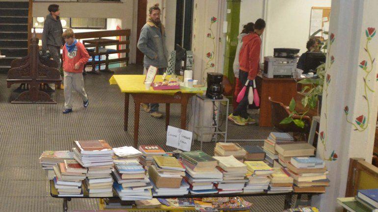 La Biblioteca Popular Bernardino Rivadavia es una institución emblema en la ciudad. La crisis económica le está pegando fuerte