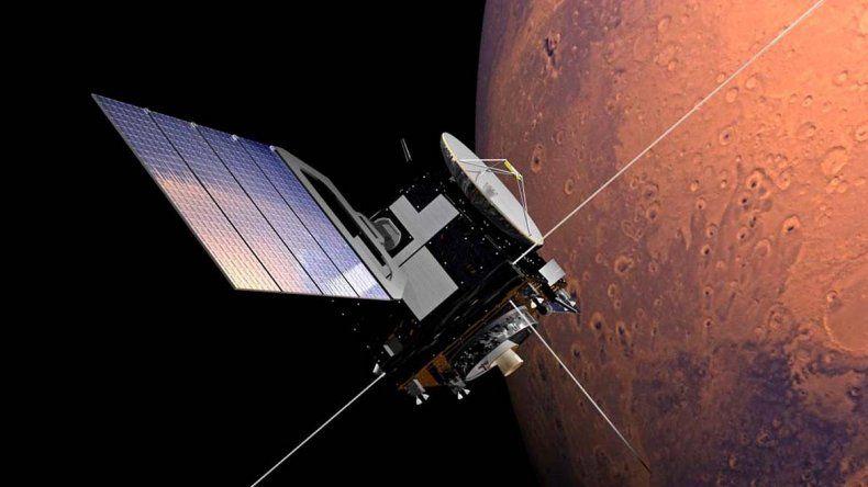 Sorprendente: descubrieron un enorme lago escondido en Marte