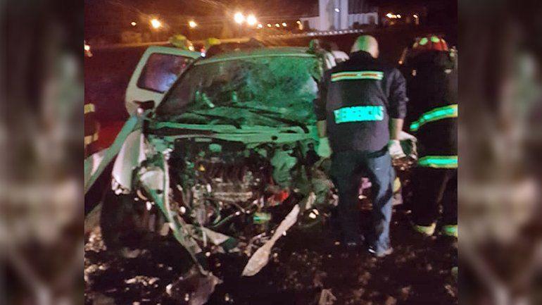 Un hombre murió tras chocar de frente en la Ruta 22 en Roca