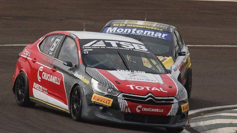 El Citroën de Manuel Urcera en el TN ha dado algunas buenas señales.