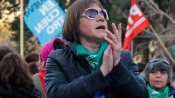 La militante trans Ornela Infante participó del último debate.