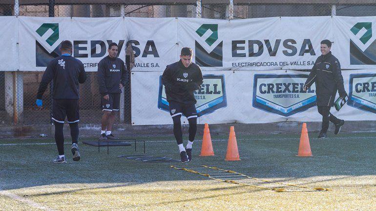 Los jugadores continúan con la pretemporada en La Visera.