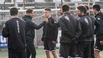 La llegada de De la Fuente y la práctica de fútbol informal.