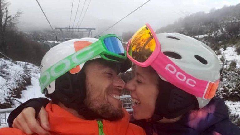 Nicole Neumann y Matías Tasín, enamorados en Río Negro