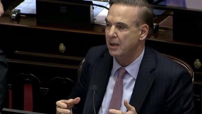 Es mentira que la ley de aborto legal es inconstitucional, criticó Pichetto