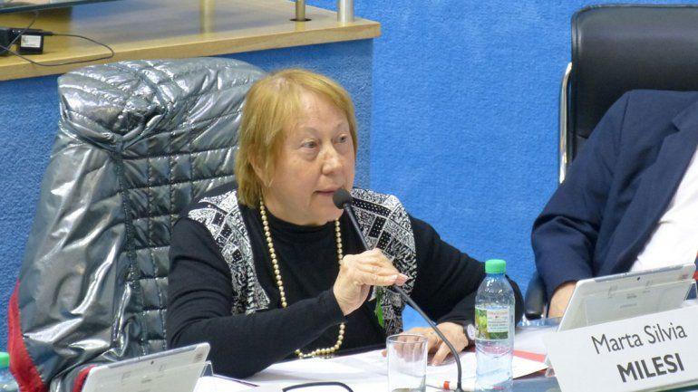 La legisladora Marta Milesi repudió las polémicas declaraciones de la presidenta del Deliberante