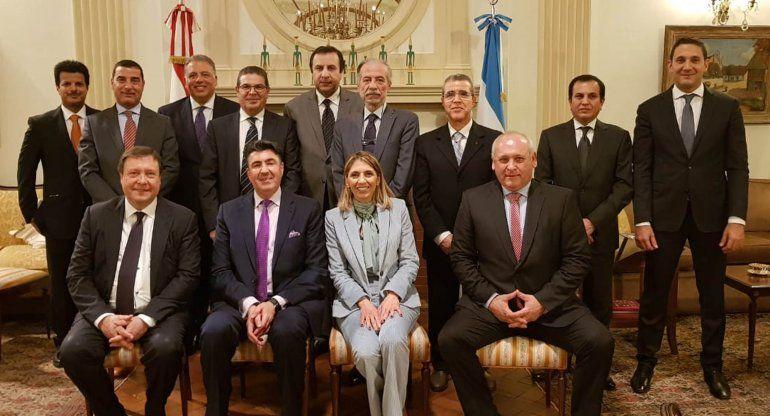 El gobernador Alberto Weretilneck busca generar lazos comerciales con los países árabes.