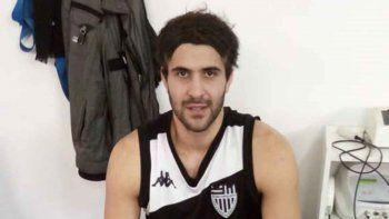 Lucas Romera, de buen ánimo pese a la mala noticia de la lesión.