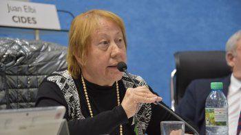 Marta Milesi tildó de kirchnerista a la senadora Odarda.