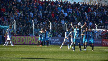 El segundo gol de Almagro, por intermedio de García, enterró todo tipo de reacción para Cipo y sus hinchas.