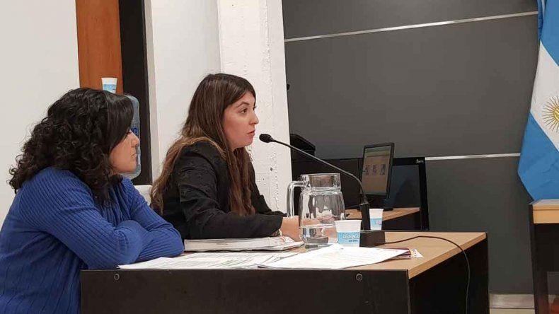 La fiscal Rocío Guiñazú llevó adelante la acusación.