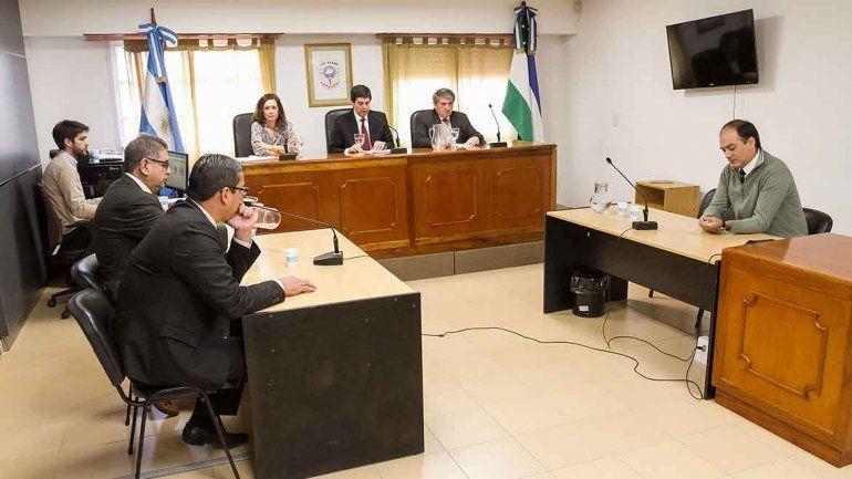A la lectura de la sentencia sólo acudieron los abogados particulares de Rubén López y Luis Abramovich.