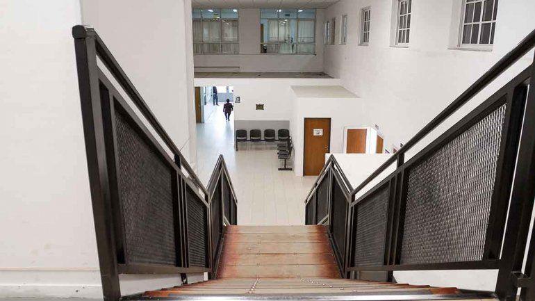 La audiencia contra Montecino se desarrolló ayer en los tribunales locales.