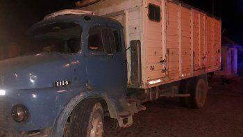 Transportaba 10 mil kilos de carne para contrabandear y lo atraparon