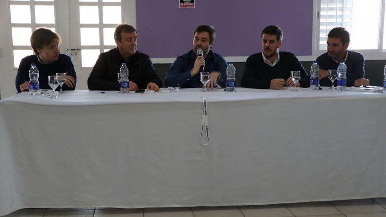 Tortoriello y Lavin encabezaron el lanzamiento del programa en Oro.