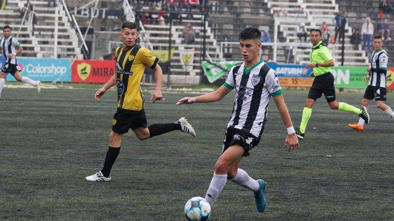 García, de la escuelita al debut en el 11 de Zwenger