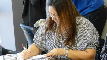 La legisladora Silvia Paz se mostró muy conforme con la iniciativa.