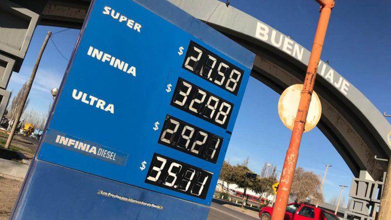 Precios imparables: por segunda vez en cuatro días, YPF subió el precio de las naftas