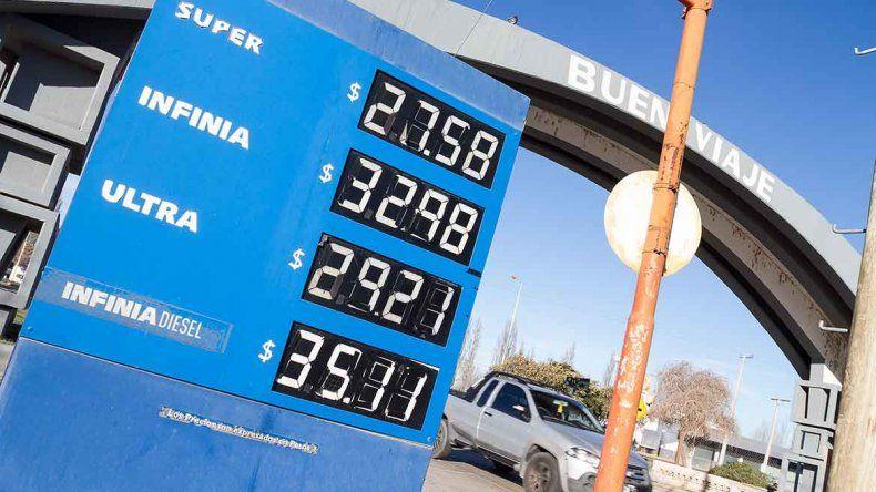 Las estaciones de servicio cipoleñas remarcaron ayer los precios.