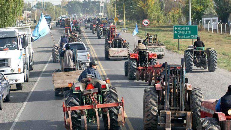 La crisis que está atravesando el país en materia económica impacta de lleno contra la actividad frutícola.