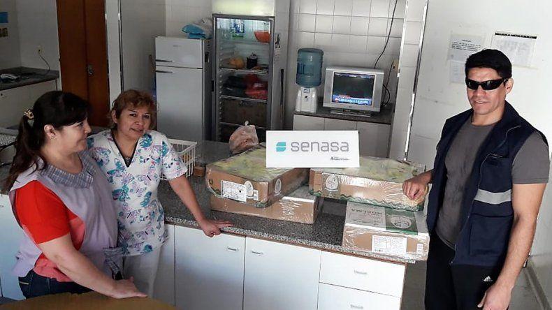 Senasa donó 642 kilos de alimentos a comedores y hospitales