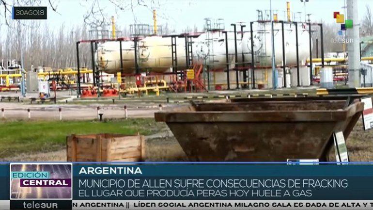 El polémico informe de Telesur sobre el fracking en Allen