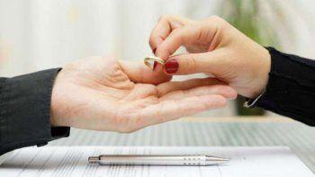 en 2018 se divorciaron casi 700 parejas rionegrinas