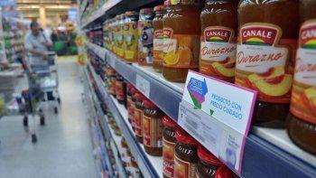 Los productos de Precios Cuidados se consiguen en los supermercados.