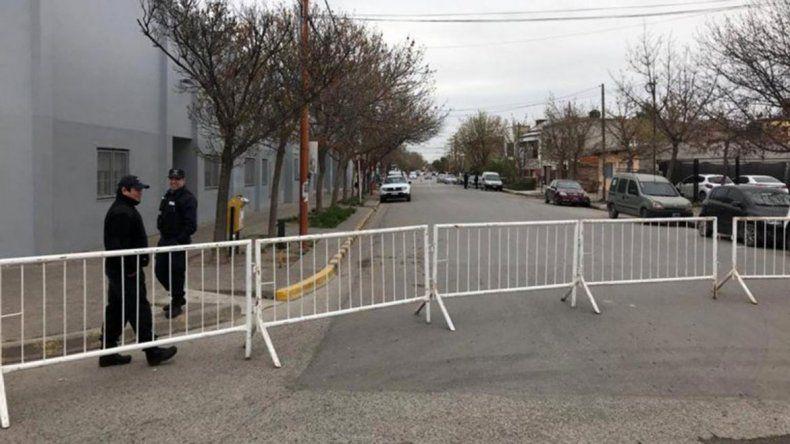 Ayer cerraron la calle