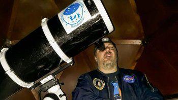 En el domo ya se pueden realizar seguimientos del espacio cósmico.