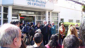 Autoridades locales, provinciales y vecinos participaron del homenaje al Cipolletazo.