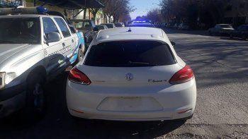 atraparon a gitano con un auto de alta gama robado