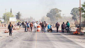 los disidentes de uatre volvieron a cortar la ruta nacional 22